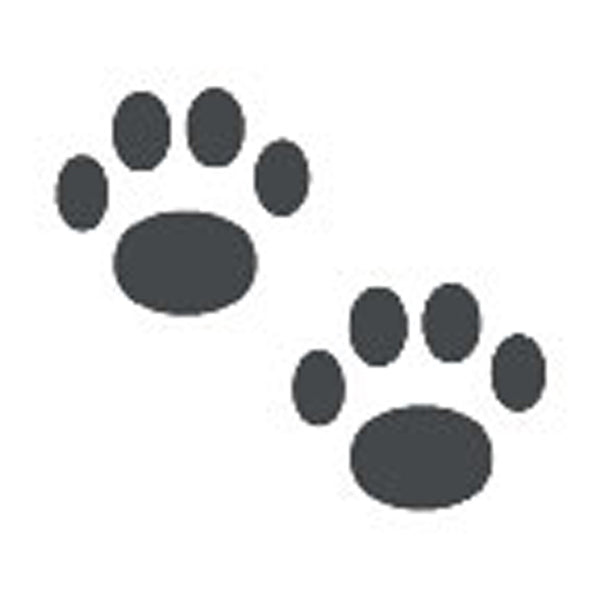 CRITTER PAWS Temporary Tattoo 2x2