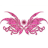Tribal Butterfly Temporary Tattoo 2.5x3.5