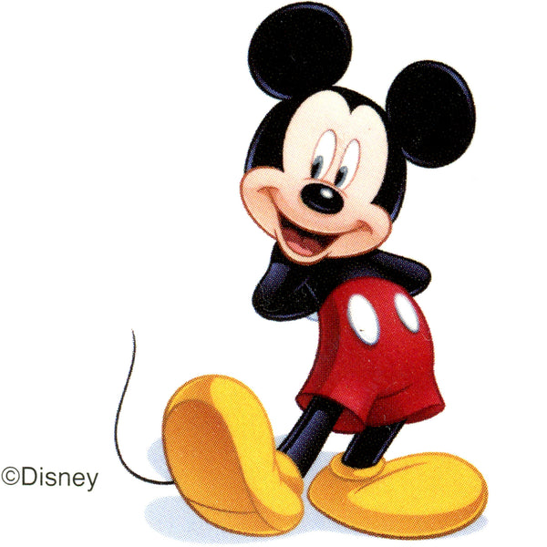 disney mickey mouse temporary tattoo 2x2 bodycandy