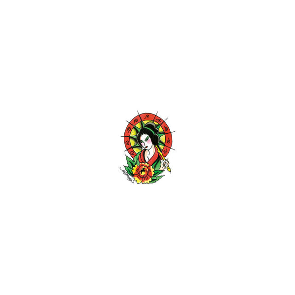 Ed Hardy Asian Girl Temporary Tattoo