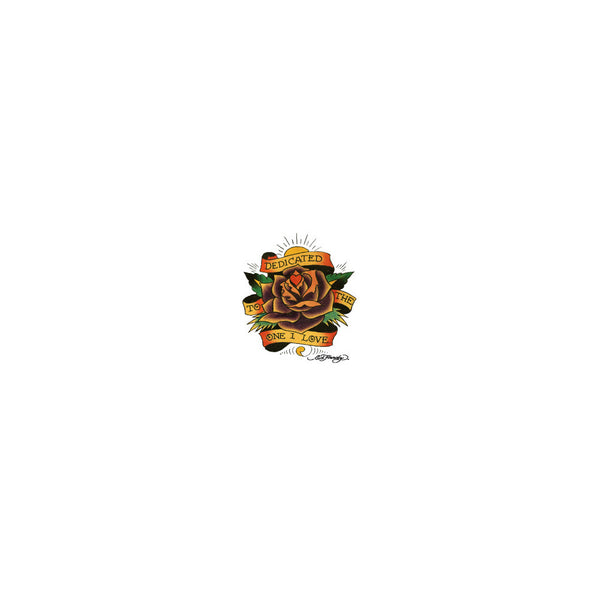 Ed Hardy Rose Flower Temporary Tattoo