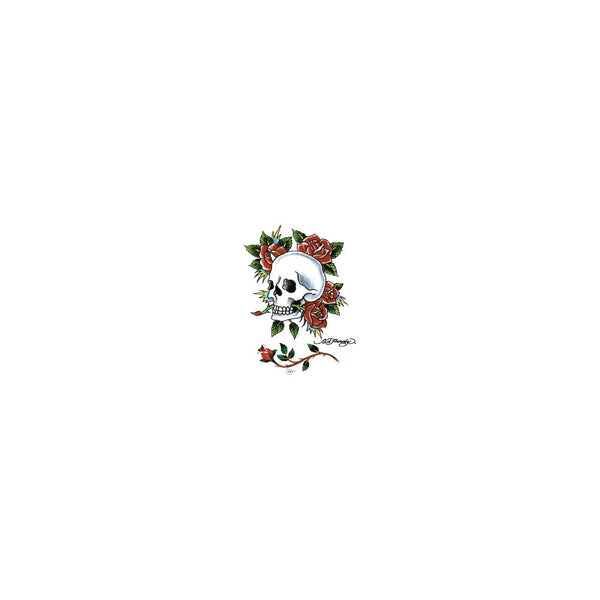 Ed Hardy Skull Temporary Tattoo