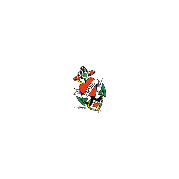 Ed Hardy Love Anchor Temporary Tattoo