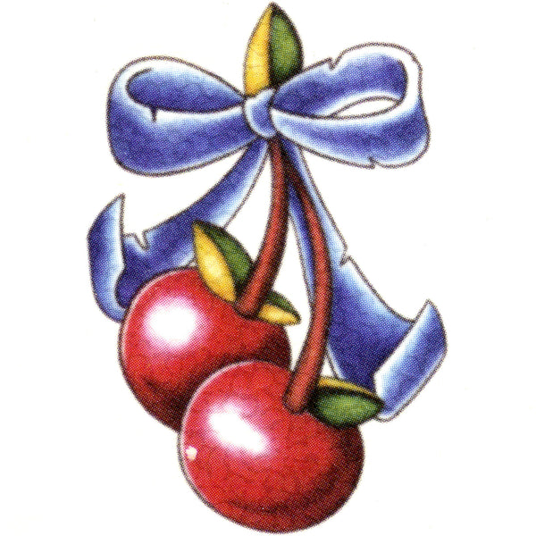CHERRIES Temporary Tattoo 2x2