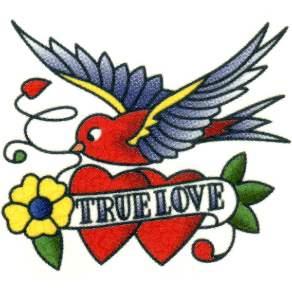 True Love Temporary Tattoo 2x2