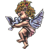 Cute Angel Temporary Tattoo 2x2