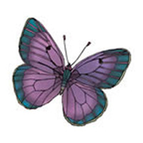 BUTTERFLY 8 Glitter Temporary Tattoo 2x2