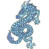 DRAGON 4 Temporary Tattoo 2.5x3.5
