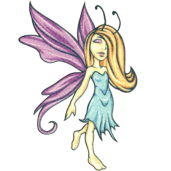 No. 9 Mythical Fairy Temporary Tattoo 2.5x3.5