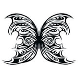 BUTTERFLY 10 Temporary Tattoo 2.5x3.5