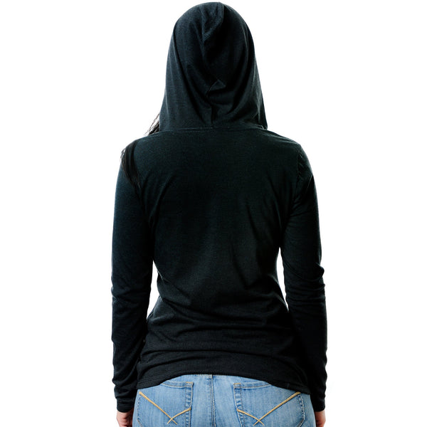 How About No Tapered Long Sleeve Hoodie