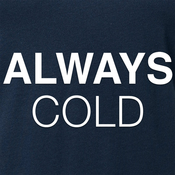 Always Cold Tapered V-Neck Tee Shirt