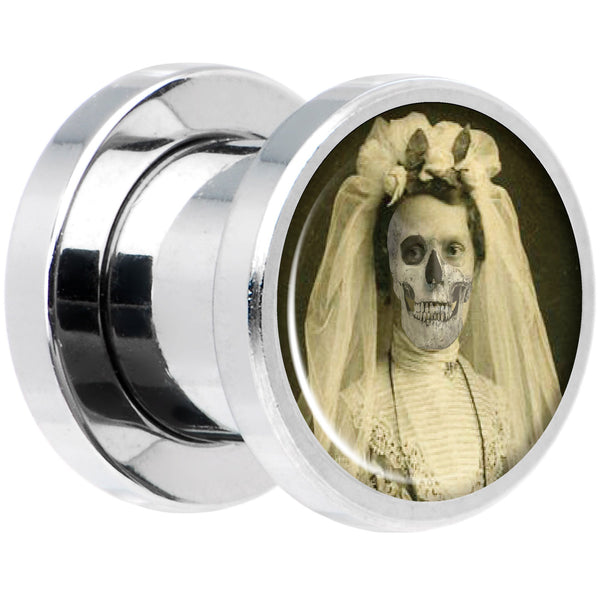 Undead Bride and Groom Halloween Plug Set 0 Gauge