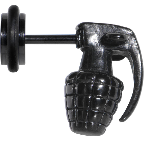 Black Hand Grenade Faux Cheater Plug