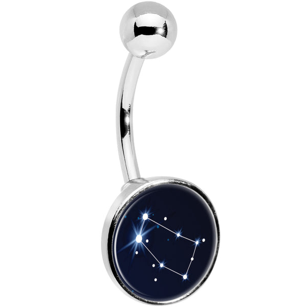 Zodiac Constellation Gemini Belly Ring