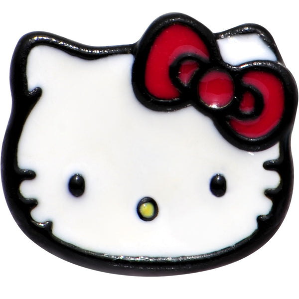 Officially Licensed Hello Kitty Red Bow Barbell Tongue