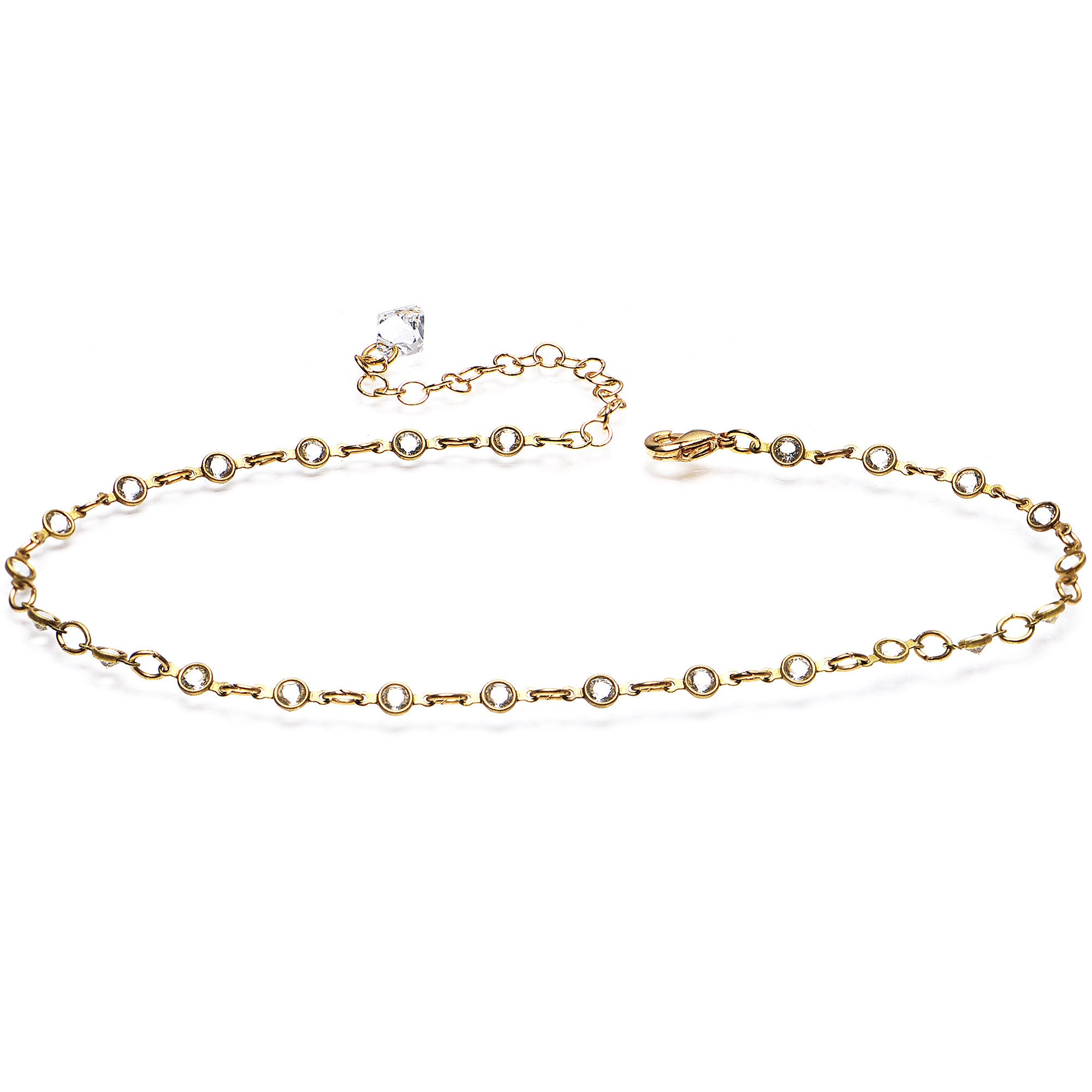 white tennis diamond gold the bracelet in gods anklet ankle products jewelry