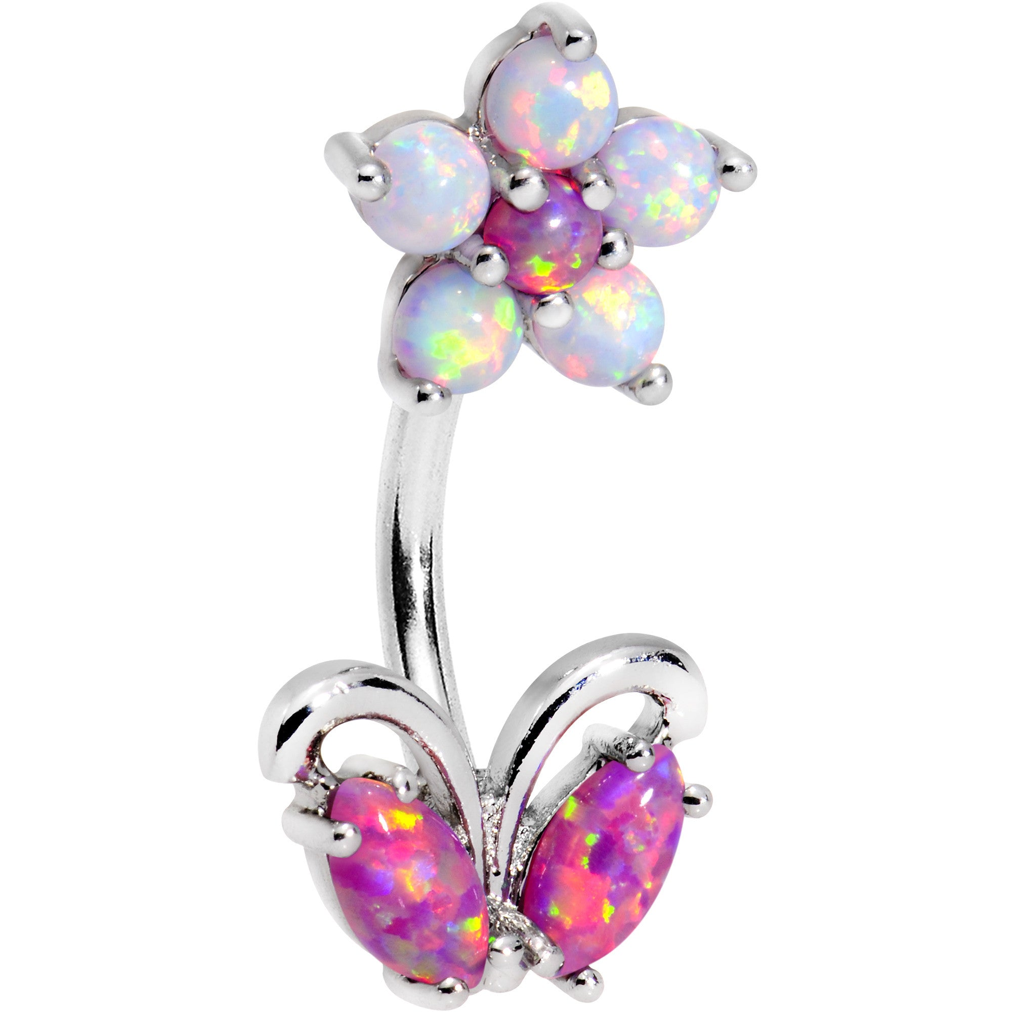 pink products cu bodycandy off belly ring solid f ck rings spk