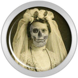 Undead Bride and Groom Halloween Plug Set 2 Gauge