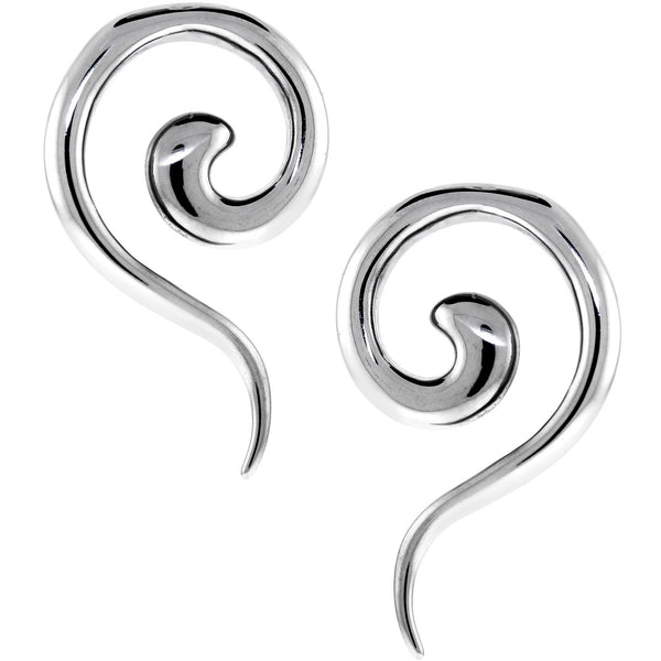 4 Gauge Stainless Steel Spiral Taper Set