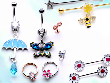 Body Jewelry belly button rings body piercing jewelry nose rings