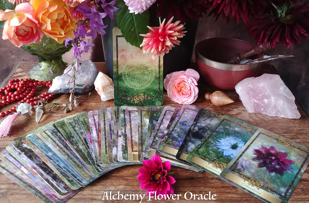 Alchemy Flower Oracle – Ingrid Koivukangas
