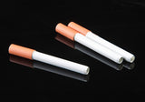 1-  Funny metal pipe creative real cigarette spring tobacco smoking Pipe portable weed Herb pipes smoke