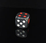 1-pcs Tobacco Pouch Plastic Dice Shape Herbal Herb Tobacco Grinder Smoke Grinders