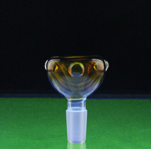 14mm or 18mm Round Glass Bowl in Multiple Colors