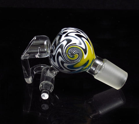 New Colorful Glass Honey Bucket Domeless Quartz Nail Glass Bucket