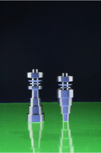 DabWorthy Super Universal Domeless 10mm or 14mm or 19mm Titanium Nail for Male or Female Joints
