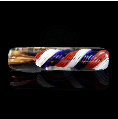 Heavy Fumed USA Cane Chillum