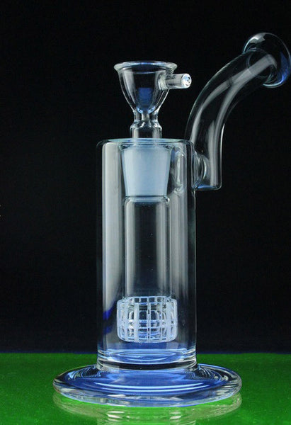 """The Daily Driver"" Showerhead Perc Glass Bubbler Pipe"