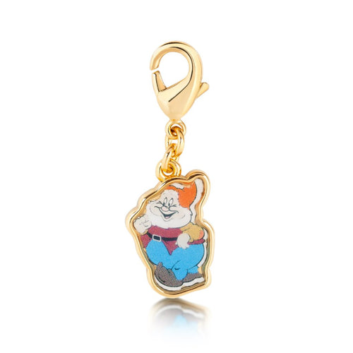 Disney Snow White Happy Dwarf Charm - Disney Jewellery
