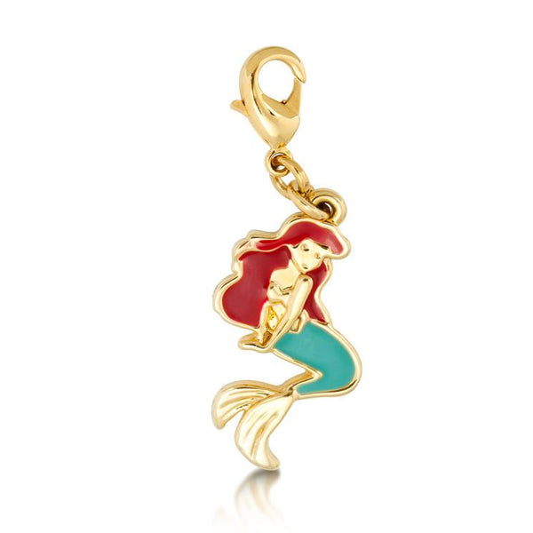 Disney The Little Mermaid Ariel Charm - Disney Jewellery