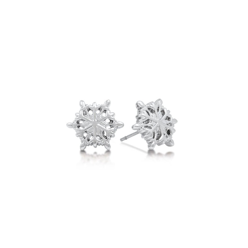 Disney Frozen Snowflake Stud Earrings - Disney Jewellery