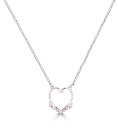 Frozen Heart Necklace - Disney Jewellery