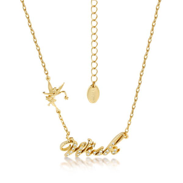Kids Disney Tinker Bell Wish Necklace