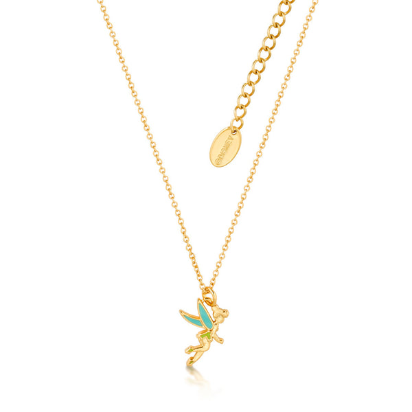 Kids Disney Tinker Bell Enamel Necklace