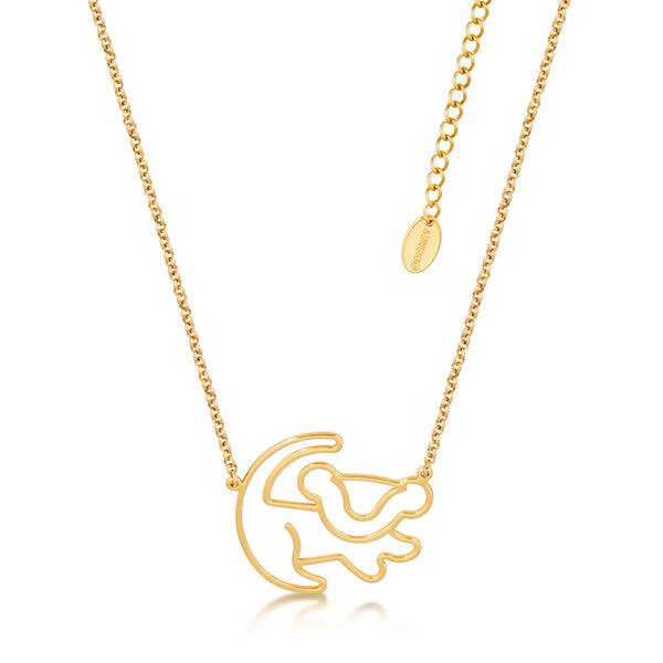 Kids Disney The Lion King Simba Necklace