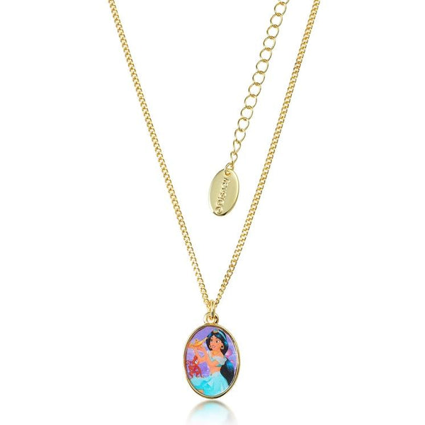 Disney Aladdin Princess Jasmine Kids Necklace Jewellery Couture Kingdom DJN369