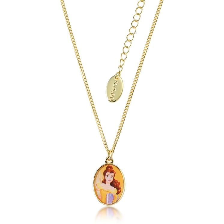 disney products beauty couture kids the belle beast and princess collections necklace