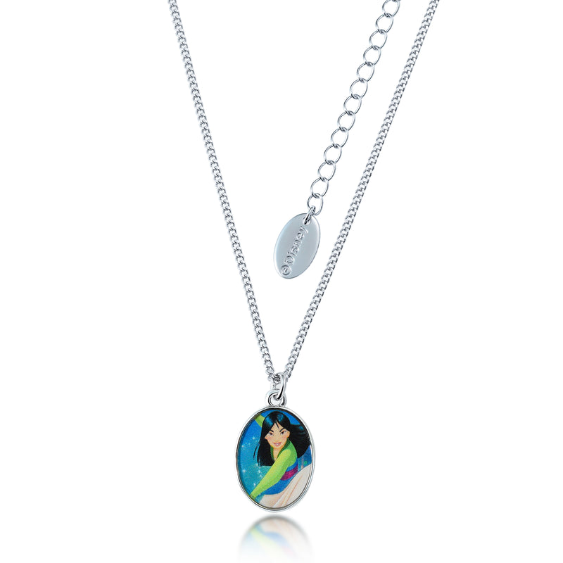 Kids Disney Princess Mulan Necklace