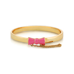 Kids Disney Minnie Mouse Bow Pink Bangle