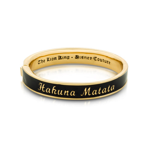 Hakuna Matata Bangle - Disney Jewellery