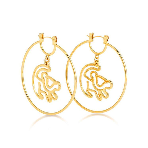 Disney The Lion King Simba Earrings - Disney Jewellery