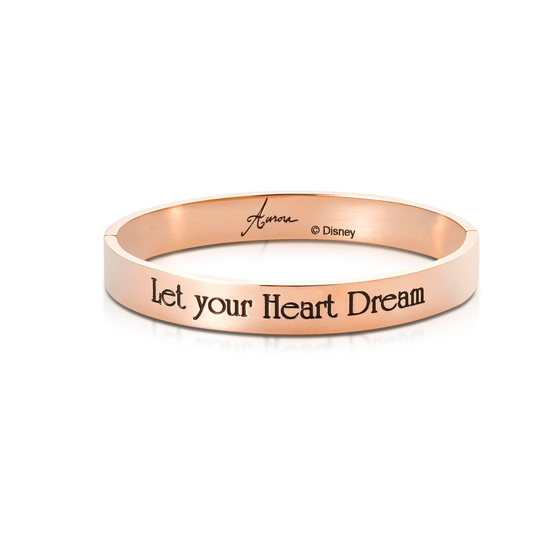 Disney Princess Sleeping Beauty Aurora Bangle - Disney Jewellery