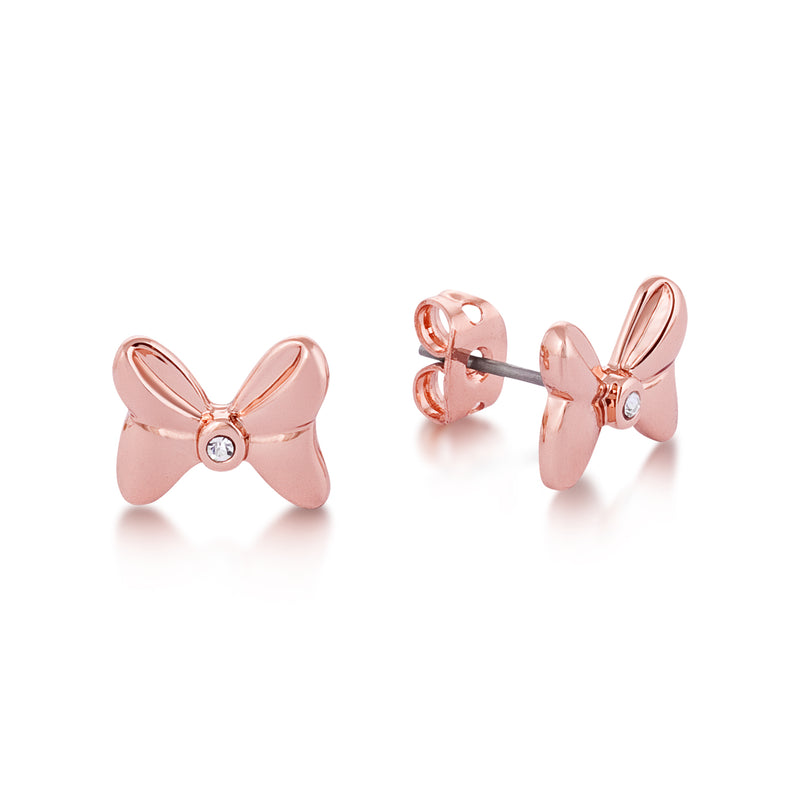 Disney Minnie Mouse Crystal Bow Studs - Disney Jewellery