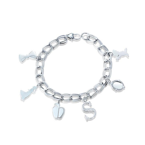 Disney-princess-snow-white-charm-bracelet