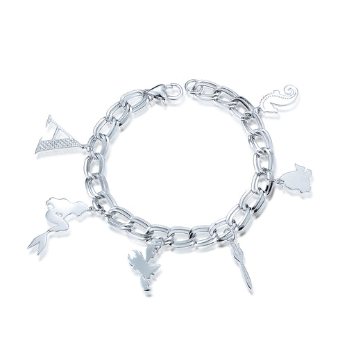 Disney Princess The Little Mermaid Ariel Charm Bracelet - Disney Jewellery